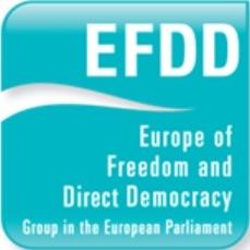 Logo der EFDD Fraktion im Europäischen Parlament
